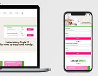 Medical Report Tracking Website