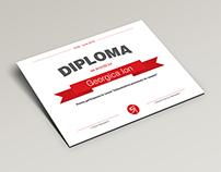 Sales diploma design