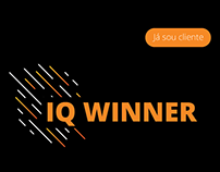 Landing page mobile - IQ Winner