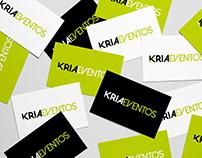 Rebrand KriaEventos // Brand Identity