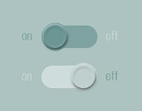 DailyUI #015 - On/Off Switch