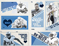 Tennessee Titans Valentine's Day Cards