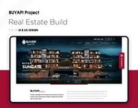 Real Estate Build - Gayrimenkul & İnşaat Web Tasarım