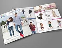 Fashion Catalog Bi-Fold Brochure Template