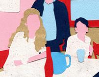 TAM collage portrait
