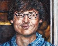 Kyle Chillik Portrait Painting