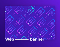Web banner design & animation