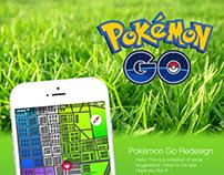 Pokémon Go UI Redesign