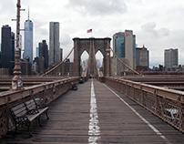 Brooklyn Bridge Deserted