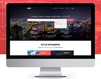 Website of real estate Agency
