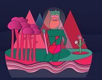 illustrations for Adobe Live