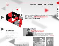 Szymanowski Competition website