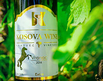 KOSOVA WINE (Branding & Label Design)