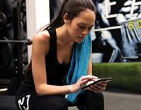 Esquared Fitness: Android/ioS App UI & Build
