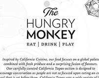 The Hungry Monkey Dining Menu