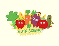Nutriscience - Brand Identity, Illustration