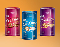 Candy packaging Creamo airy.
