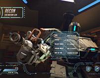 G.U.I Infographic - Bastion (Overwatch)