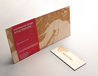 Custom wooden lasercut invitation