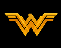 Wonder Woman Logo Redesign