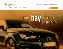 HayCars - Web Store