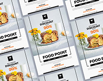 Free Food Flyer Design Template