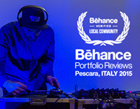 BEHANCE Portfolio Reviews Pescara 2015