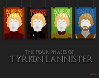 The Four Phases of Tyrion Lannister