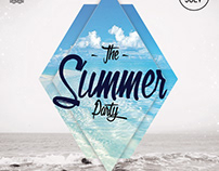 The Summer Party - Free PSD Flyer Template