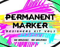 Permanent Marker Designers Kit Vol.1