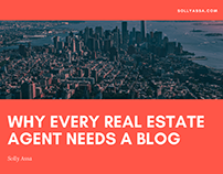 Solly Assa on Why Every Real Estate Agent Needs a Blog