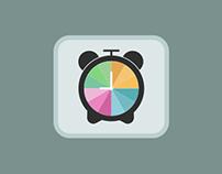 Clock Vector Symbol