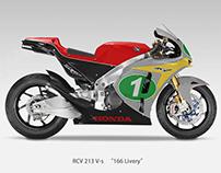 """Honda RCV213 V-S """"166 Livery"""" Livery"""