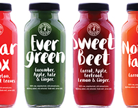 Juice Warrior – Branding and Packaging