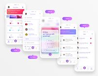 Merlin Health™ App Concept