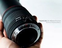 Product shot Sigma 28-300