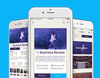EventDuck iOS App Design