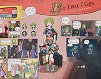 13/18: A Comic About a Coma--Emma T Capps