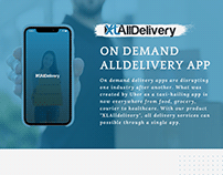 XLAllDelivery - On Demand All Delivery App