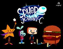 storyboard Las aventuras Sfero y Jhonny-C