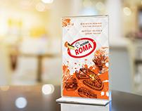 Roma cover menu
