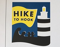 Concept Branding for the Hike To Hook