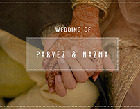 Parvez Nazma Wedding Trailer Video