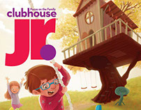 cover for Club house Jr. October 2016