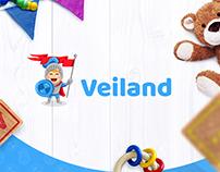 """Veiland"" - Eco-friendly mats for children."