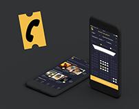 Allociné app - Redesign Concept