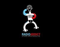 Radio addict - logo