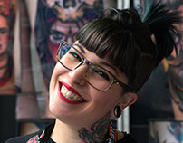Debora, A Lady Tattoo Artist