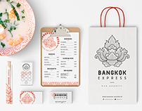 . BANGKOK EXPRESS food truck .