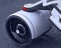 Light electric City Car, BraunPrize 2005